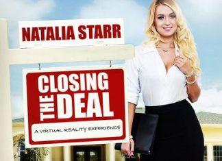 Natalia Starr In Closing the Deal VR Porn