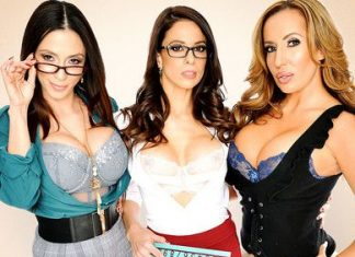 "Ariella Ferrera, Eva Long, Richelle Ryan in ""After School"""
