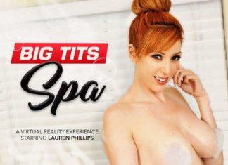 Lauren Phillips in Big Tits Spa