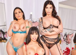 """Gia Milana , Luna Star , Ivy LeBelle in """"The Dressing Room 3"""""""